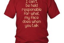 I Can't Be Held Responsible T-Shirt funny saying sarcastic