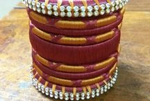 silk thread Jewellery / for more details ping us on 0094 0770325472