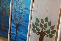 Silk Painting Process