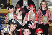 Delabole Primary School PL33 9AL / Free school author visit to Delabole Primary School PL33 9AL. PIRATES! Schools often dress up for the visit on the Kernowland 'pirate' theme. A typical visit is: Assembly Presentation - Questions & Answers - Book Signing - After Visit Activities in class.