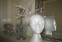 """""""white wedding"""" by mad-hatter / looking for a little extra for your wedding? Whether it is the bride, brides mother or brides maids, I am happy to create a bespoke hat or fascinator exactly to your wishes."""