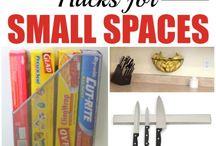 Organization | Small Space / Organization | Small Space, Tiny House, Organize