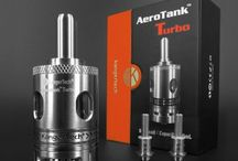 Vaping: A Peek of Ecig Tanks We Love! / There are so many vaping tanks that we love at #VaporBurst. Some are classics that have been around for a while. Others reflect some of the latest ecig innovations. Pictured here are  the KangerTech AeroTank Turbo, The Just Fog Tank, VaporBurst's Polypro Tank, and the KangerTech T3D Tank, all of which offer great performance, enhanced taste, ease of use, and lots of vapor clouds!