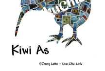 Kiwiana / Things that depict New Zealand. From art to downloads to teatowels  A little Kitsch a little fun but totally kiwi