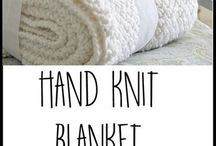 Blankets - Knitted and Crocet