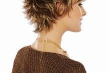 Peinados en capas cortas