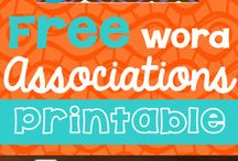Speech Therapy Resources / Speech therapy resources, games, toys, and freebies