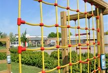 Nets & Ropes / Examples of Nets & Ropes - commercial grade for use in commercial a playground setting. manufactured and designed by Online Playgrounds part of the Fenland Leisure Group.