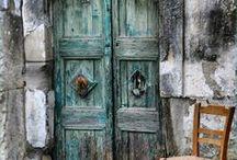 Aqua porte ancienne