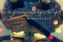 Everyone deserves a hero<3