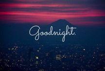 Goodnight ⭐️ / Goodnight friends