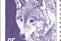 Animals on The Stamps