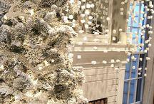 Papierendecoraties ♥ Winterwonderland / Romantische witte wintersferen