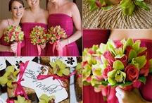 esküvői dekoráció rózsaszín