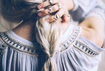 Boho Haarstyle