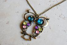Bashful Owl Jewelry / by Lori Granite