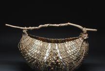 Fibre basket weaving