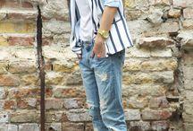 JEANS - SNEAKERS - HEELS - LEATHER / Diferentes looks combinados con vaqueros, zapatillas o tacones.