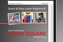 KellyCraft Products / KellyCraft's mission is to bring you high quality innovative products that will enhance your craft experience while providing excellent customer service! We are excited about the launch of our flagship product, the Get-It-Straight™ Laser Square! Utilizing a patent-pending sliding laser design, you can quickly and easily align multiple objects. This unique product can be used for scrapbooking, stamping, quilting, school projects and many other crafts!