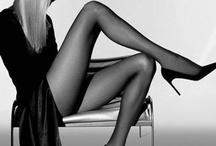 Cosce BW - Legs BW / Collant Neri Foto BW