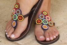 Sandals crochet