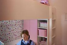 Quarto com home office / Belíssimos quartos com espaço para área de trabalho, se inspire!
