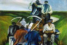 ZIGAINA / Il mio sogno un quadro di Zigaina amo l'uso del colore e i suoi soggetti