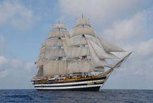 Sailing ships/Schooner - Velieri / Acient and modern sailing ships