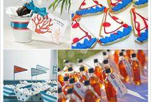 Décoration mariage thème marin cadeaux aux invités / Des idées de cadeaux aux invités pour un thème de mariage mer
