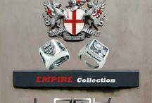 Empire / Anelli in argento