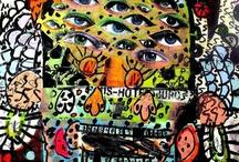 Bäst Board / Work from NY street artist Bäst, compiled by UK street art website Hookedblog.
