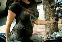 Chicas motos