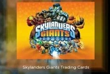 Skylanders / Pictures of some of the Topps Skylanders Giants Trading Cards and Skylanders Spyros Adventure and Giants figures now available from our website http://www.silverbacksmonkeyhouse.co.uk