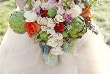 Kwiaty: karczochy