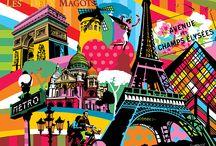Venha conhecer cidades, países e lugares... ♥