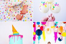 Confetti Themed 1st Birthday