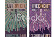 Concert Ticket Designs