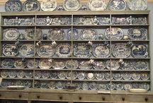 Blue & White / Todo lo relacionado con porcelana, vajillas, telas, etc.