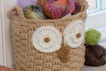 Free patterns: bags & baskets