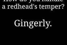 Ginger jokes
