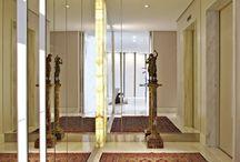 Hall do Elevador | Elevator Lobby / Veja muito mais fotos, dicas e informações técnicas de cada HALL DO ELEVADOR no blog Decor Salteado! É só clicar nas imagens! ; - )