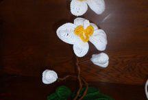 my crochet flowers / bloemen haken