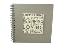 Christening Gifts and Guest Books