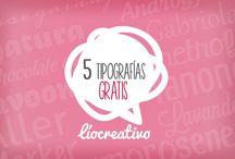 RECURSOS GRÁFICOS / Tipografías, imágenes, vectores gratuitos. #GraphicResources
