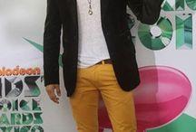 khaki & mustard pants