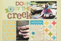 Scrapbooking Page Layout Ideas / by Laura Chasteen Riley
