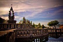 Villa Lante / Il giardino all'italiana nel Cinquecento. The Italian garden in XVI century.