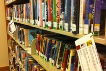BOOK DISPLAYS & OTHER LIBRARY STUFF