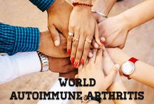 "World Autoimmune Arthritis Day 2016 / ""World Autoimmune Arthritis Day (WAAD) was created as an online experience for patients with Autoimmune Arthritis diseases, their friends and families,"" said Tiffany Westrich-Robertson, co-founder and CEO of the International Foundation for Autoimmune Arthritis (IFAA), official hosts and event coordinators."