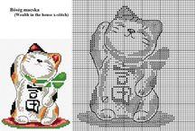Cross Stitch Cats